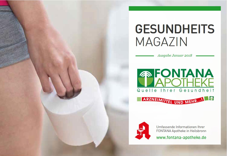Gesundheitsmagazin Fontana Apotheke Januar