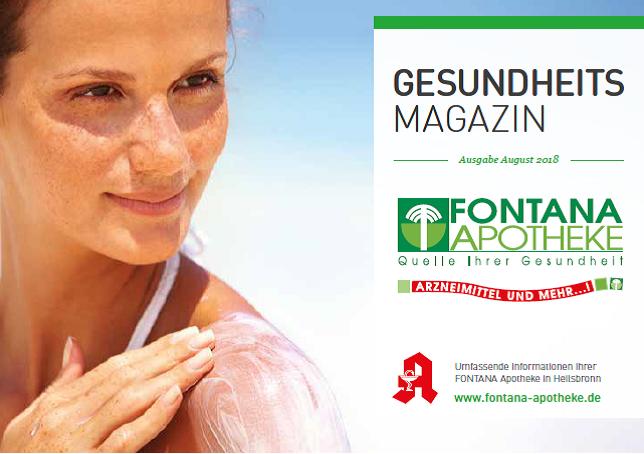 Gesundheitsmagazin August