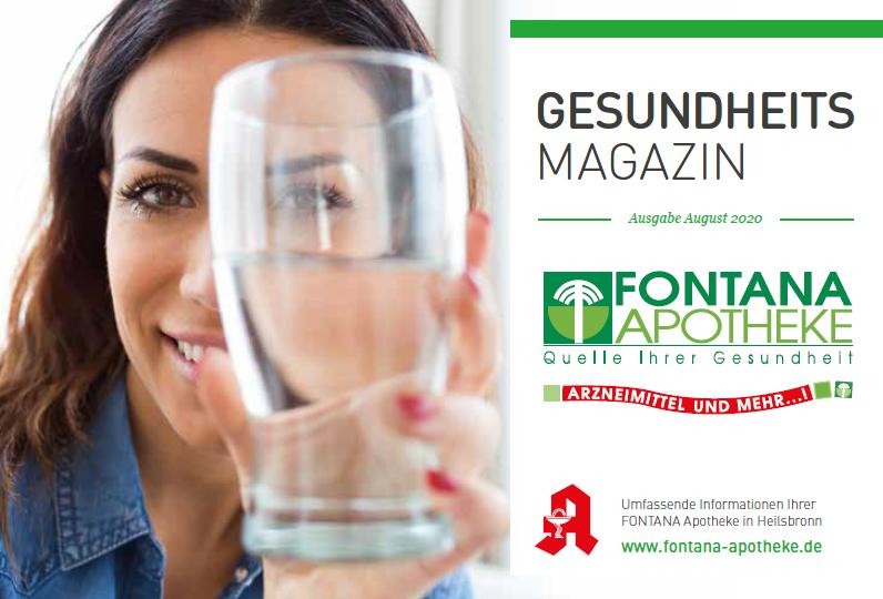 Gesundheitsmagazin August 2020